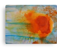 Summer Flame Blossom Canvas Print