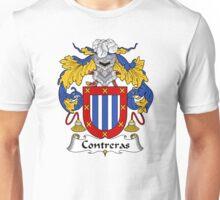 Contreras Coat of Arms/Family Crest Unisex T-Shirt