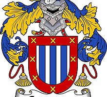 Contreras Coat of Arms/Family Crest by William Martin
