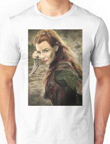 Tauriel Portrait- The Hobbit, Desolation of Smaug Unisex T-Shirt
