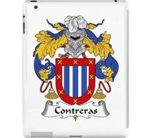 Contreras Coat of Arms/Family Crest iPad Case/Skin