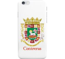 Contreras Shield of Puerto Rico iPhone Case/Skin