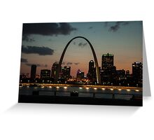 St. Louis, Missouri Arch Greeting Card