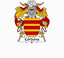 Cordova Coat of Arms/ Cordova Family Crest Unisex T-Shirt
