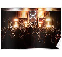 Concert Crowd #2 Poster