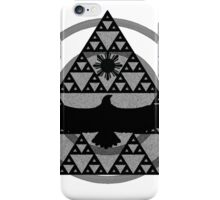 Eagle Rising - Black iPhone Case/Skin