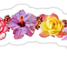 FLOWER CROWN Sticker