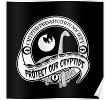 Cryptid Preservation Society Poster