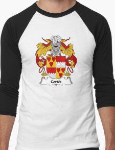 Cortez Coat of Arms/Family Crest Men's Baseball ¾ T-Shirt