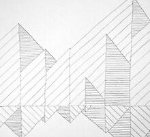 Line Drawing 3 by Aaran Bosansko