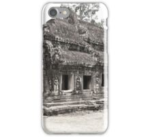 Ta Prohm temple, Angkor, Siem Reap Province, Cambodia iPhone Case/Skin