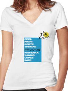 2014 Team Women's Fitted V-Neck T-Shirt