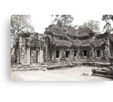 Ta Prohm temple, Angkor, Siem Reap Province, Cambodia Canvas Print