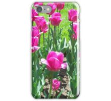 Cheerful Tulips iPhone Case/Skin