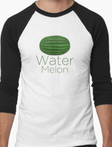 Water Melon Men's Baseball ¾ T-Shirt