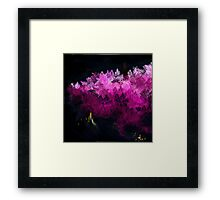 PINKY ABSTRACT FOREST Framed Print