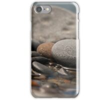 Stones and Pebbles In Water - Close Up iPhone Case/Skin