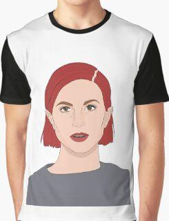 Paramore Hayley Digital Art Graphic T-Shirt
