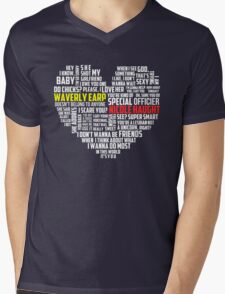 Wayhaught quotes - best of ; Mens V-Neck T-Shirt