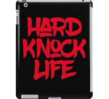 HARD KNOCK LIFE iPad Case/Skin