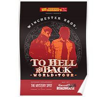 Winchester Bros. World Tour Poster