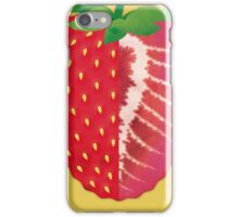 Strawberry (yellow) - Natural History Fruits iPhone Case/Skin