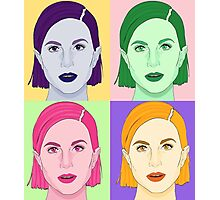 Hayley Williams Paramore Andy Warhol Photographic Print