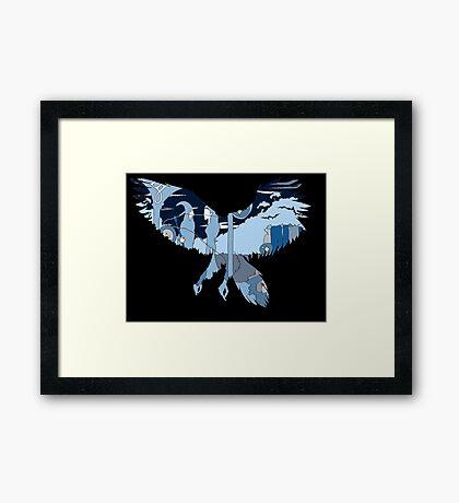 Gandalf/Galadriel -Rivendell Framed Print