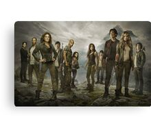 The 100- Cast Canvas Print
