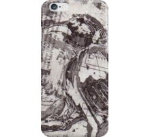 Bird on a Wire (Chine-Colle) iPhone Case/Skin