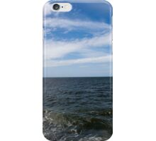 Ocean With Blue Sky and Clouds iPhone Case/Skin