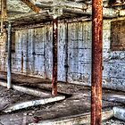 Abandoned Barn Interior Detail by Roger Passman