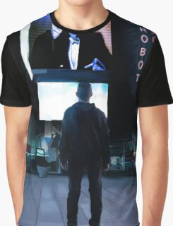 Mr Robot Poster Graphic T-Shirt