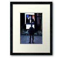 Mr Robot Poster Framed Print