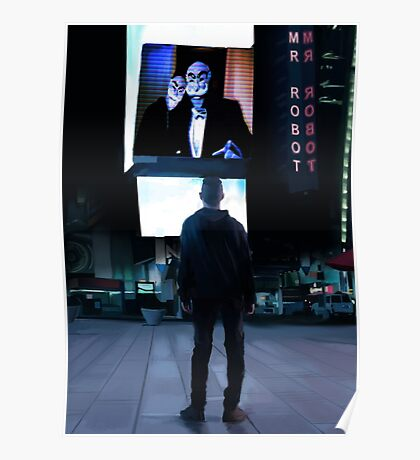 Mr Robot Poster Poster