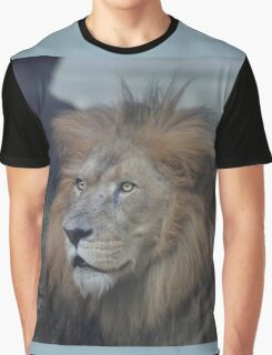 African Lion Graphic T-Shirt