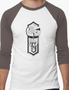 Ambitious, Determined and Cunning Men's Baseball ¾ T-Shirt