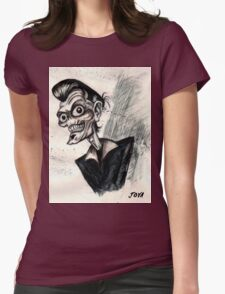 psychobilly rockabilly Womens Fitted T-Shirt