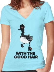 Becky with the Good Hair (Parody) Women's Fitted V-Neck T-Shirt