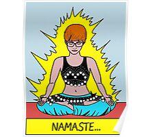 Namaste Pop Art Poster Poster