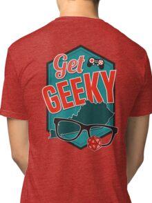 Get GeeKY Logo Tri-blend T-Shirt