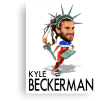 Kyle Beckerman USMNT Canvas Print