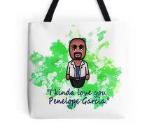 Agent Derek Morgan Tote Bag