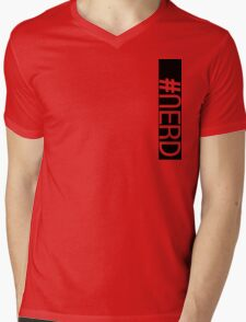 Hashtag NERD pt.2 Mens V-Neck T-Shirt