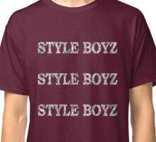 STYLE BOYZ GLITTER LOGO Classic T-Shirt