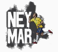 NEYMAR world cup by Ben Farr