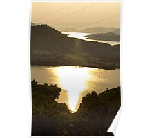 Burning River - Nature Photography Poster