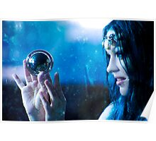 Moon Mermaid Poster
