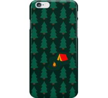 Deep Wild Forest - Part II - Camping iPhone Case/Skin