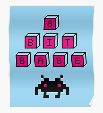 8 Bit Babe Poster